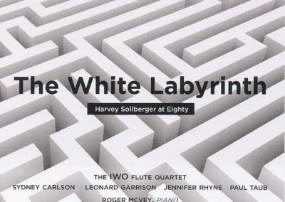 Harvey Sollberger at 80: The White Labyrinth